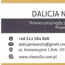 Biuro Tłumaczeń Dalicja Niewulis